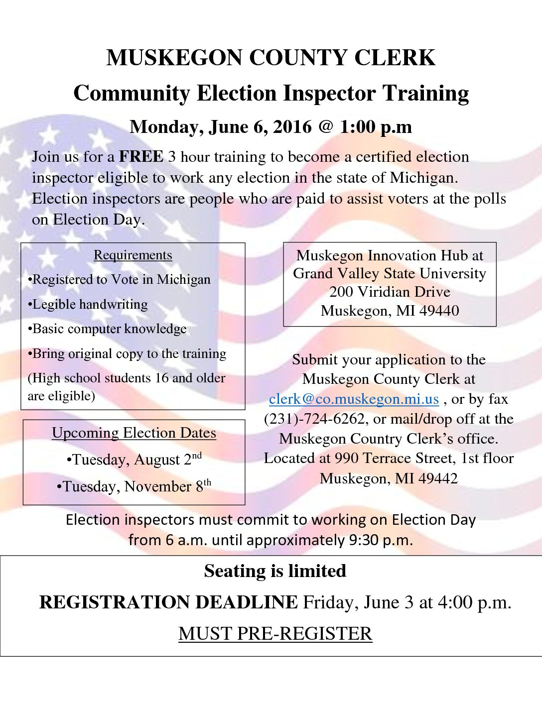 Election Worker Training