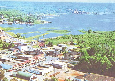 Aerial photo of Montague